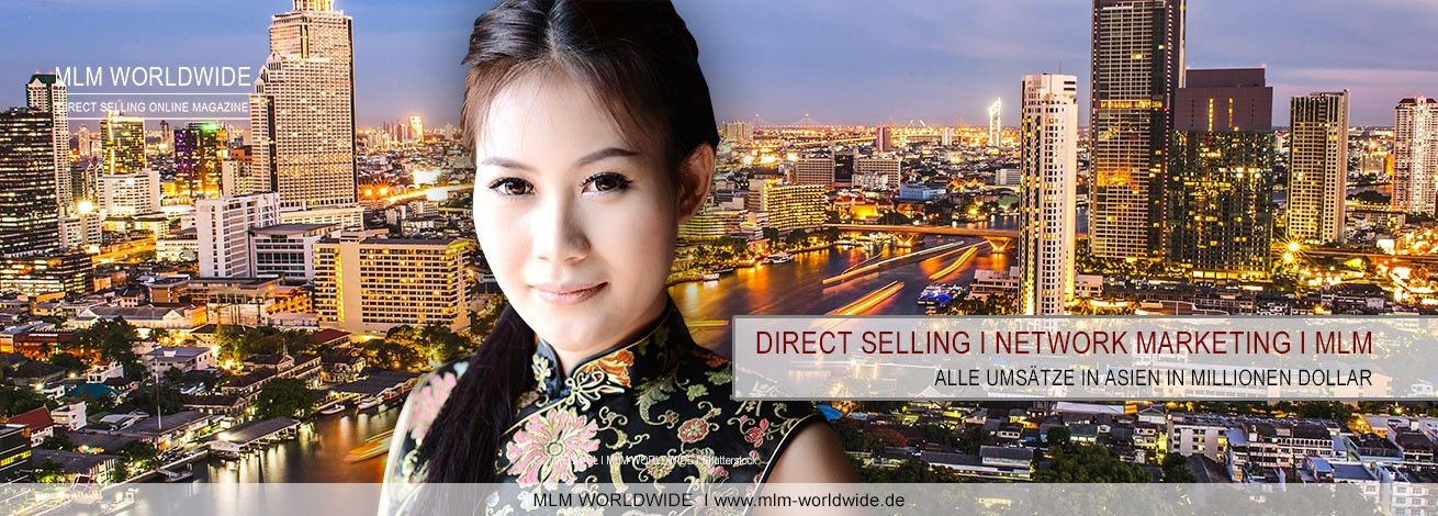Direct-Selling-Network-Marketing-MLM-Umsatz-Asien
