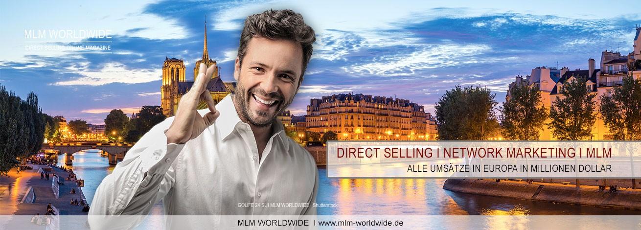 Direct-Selling-Network-Marketing-MLM-Umsatz-Europa