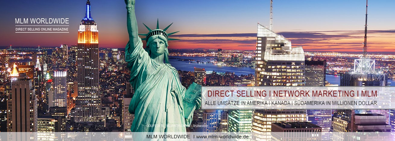 Direct-Selling-Network-Marketing-MLM-Umsatz-USA-Kanada-Suedamerika