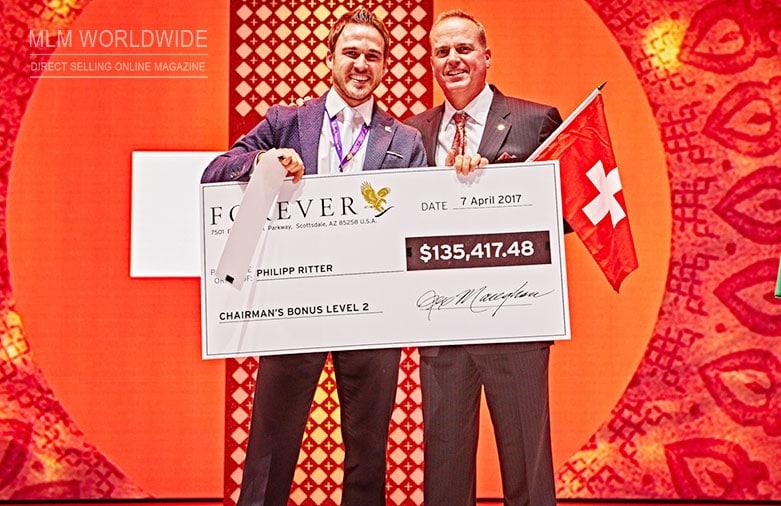 Philipp-Ritter-Bonus-2017-Forever-Living-Products