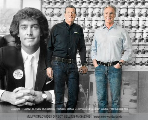 Herbalife--Michael-O.-Johnson-und-Richard-P.-Goudis---Foto-Business-Wire