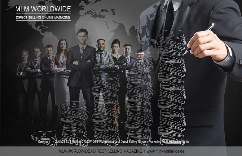 Direct-Selling-Network-Marketing-MLM-Milliardenmärkte