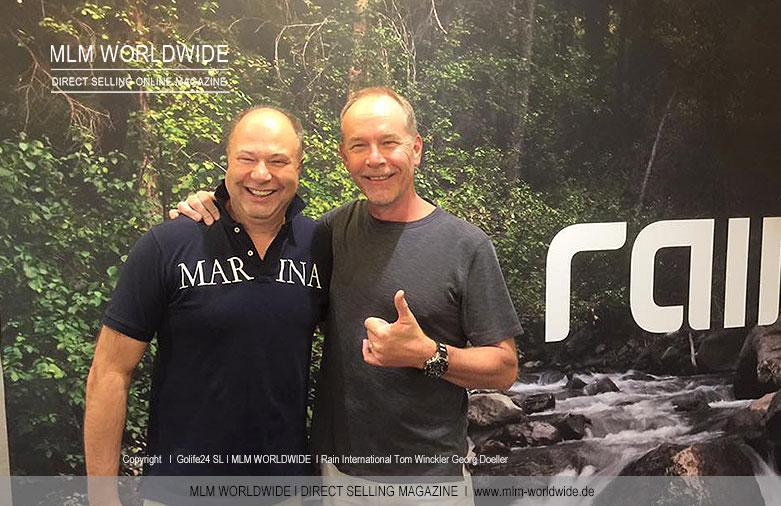 Rain International Tom Winckler und Georg Doeller