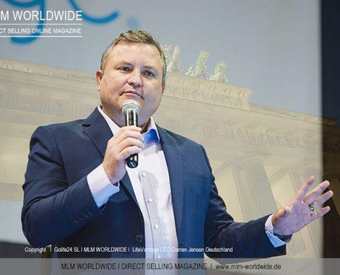 LifeVantage-CEO-Darren-Jensen-Deutschland