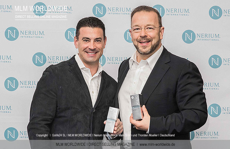 Nerium International Mark Smith und Thorsten Mueller I Deutschland
