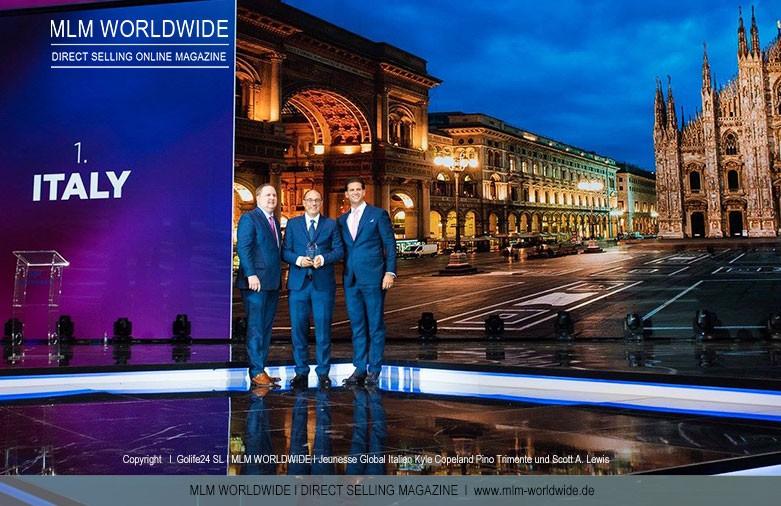 Foto: Jeunesse Global Italien I Kyle Copeland, Pino Trimonte, Scott A. Lewis