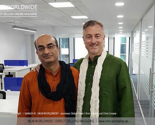 Jeunesse-Global-Indien-I-Anshu-Bagai-und-Chris-Cooper