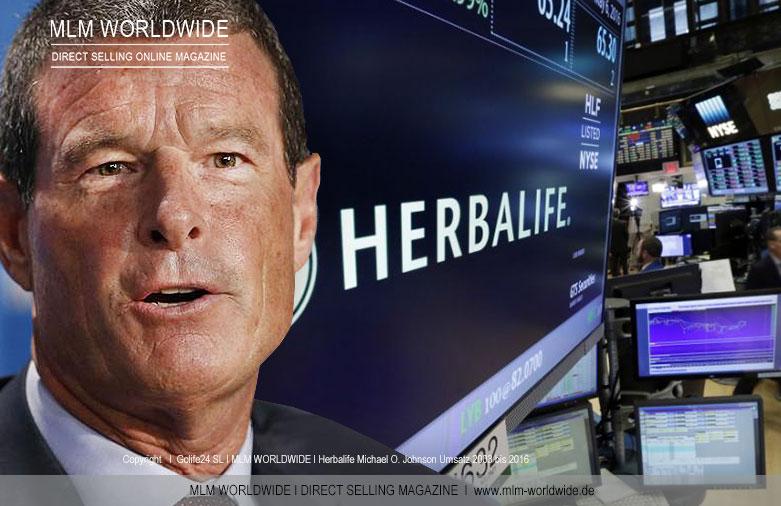Herbalife-Michael-O-Johnson-Umsatz-2003-bis-2016