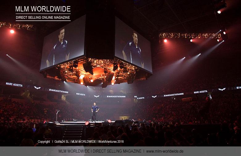 WorldVentures Event 2018 mit 10.000 Teilnehmern