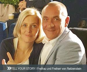 Freifrau und Freiherr von-Reitzenstein