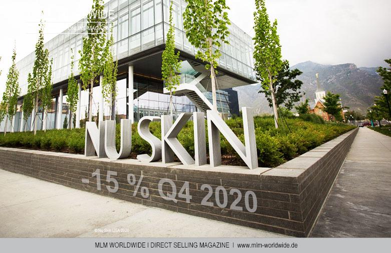 Nu Skin Enterprises I Umsatz Q4 2019