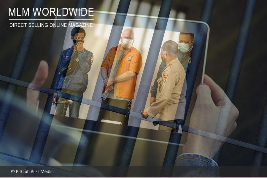 Bitclub-Betrüger Russ Medlin in Indonesien verhaftet