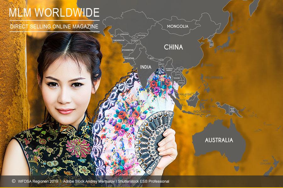 WFDSA-2019-Umsatz-Region-Asien-MLM-Network-Marketing