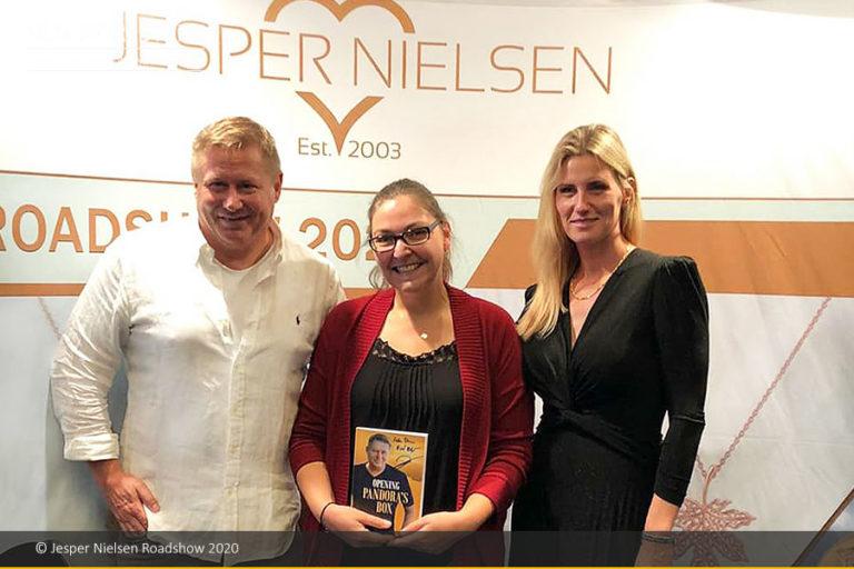 Jesper Nielsen Roadshow im September 2020 verzeichnet über 1.000 Teilnehmer