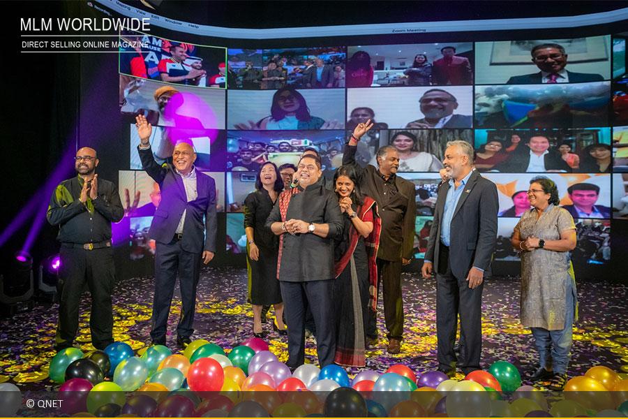 Über 200.000 Teilnehmer auf der virtuellen QNET-Convention
