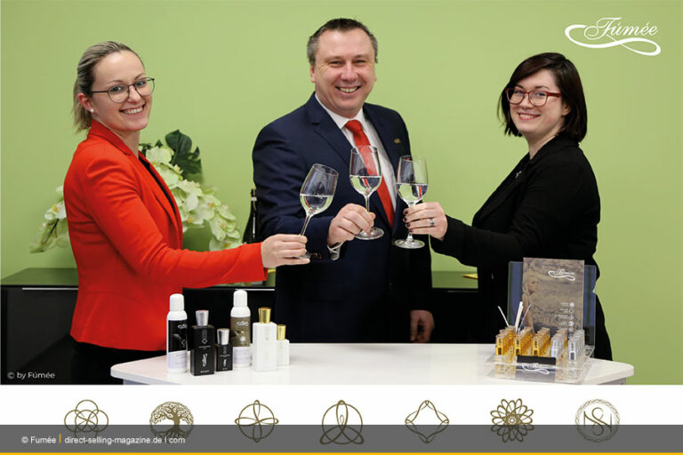 Fúmée Perfume & Cosmetics GmbH begeht Jahresauftakt 2021 im Internet
