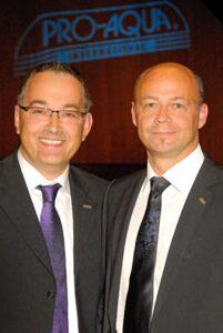 Pro Aqua Gerhard Meier und Jürgen Wehner