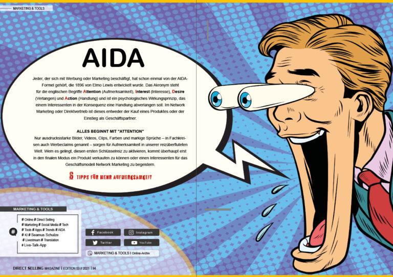 Warum die AIDA-Formel so wichtig im Network-Marketing ist.