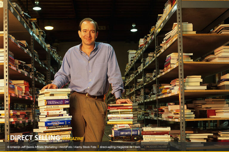 Amazon startete sein Affiliate-Programm 1996