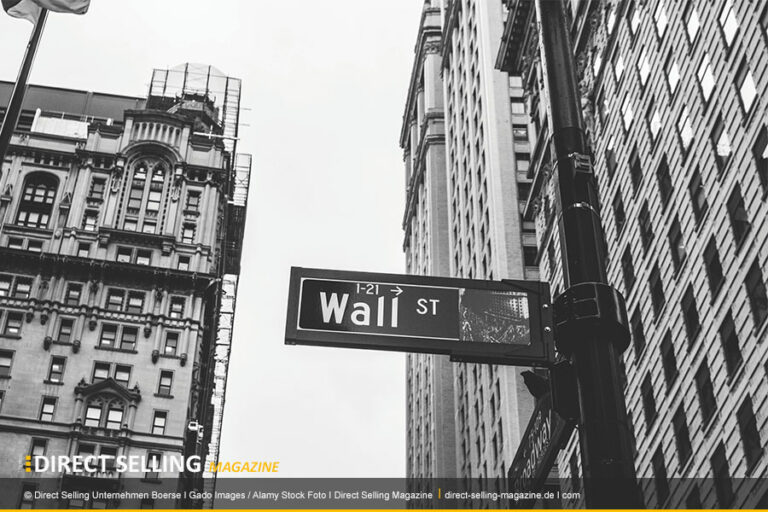 Direct Selling Unternehmen an der Börse