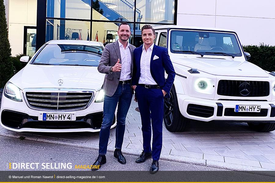 Nawrot-Brothers-Manuel-und-Roman-Nawrot-Hyla-Network-Marketing-Millionäre
