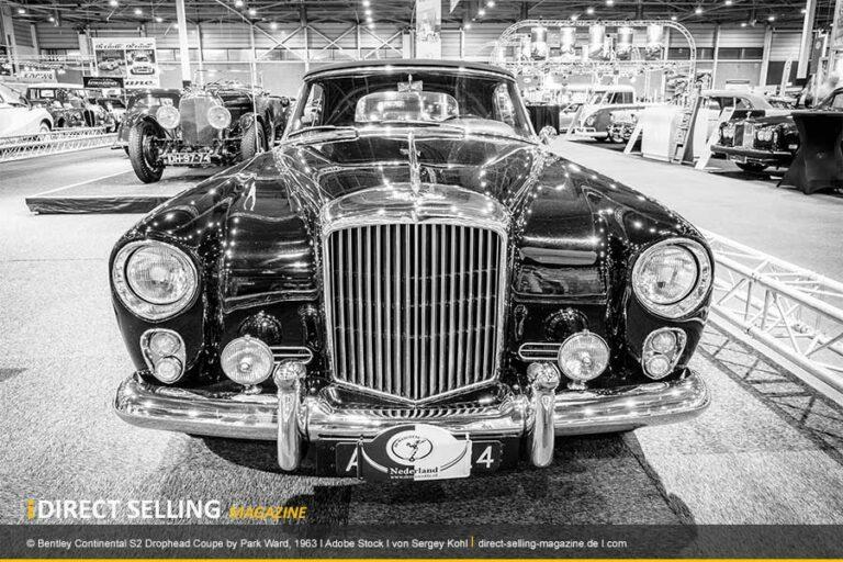Die Kultmarke Bentley ist beliebt bei Network-Marketing-Führungskräften