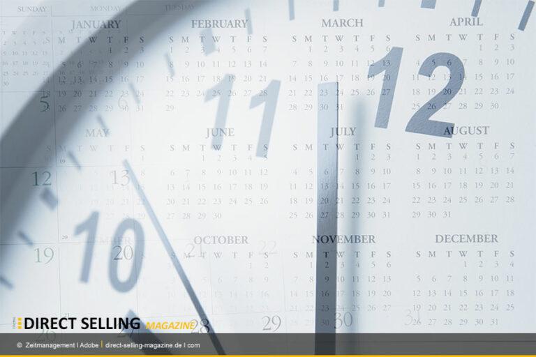 Dizipliniertes Zeitmanagement führt zum Erfolg