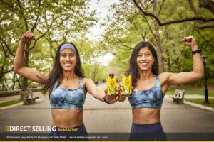 Nungshi & Tashi Malik neue Markenbotschafterinnen von Forever Living Products