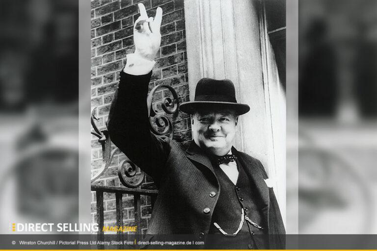 Winston Churchill machte das Victory-Handzeichen zum Symbol für Erfolg