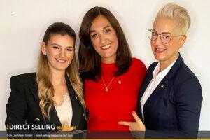 Alexandra Jeschke und Mercedes Rey auf Presidents Team Member Kurs bei Juchheim
