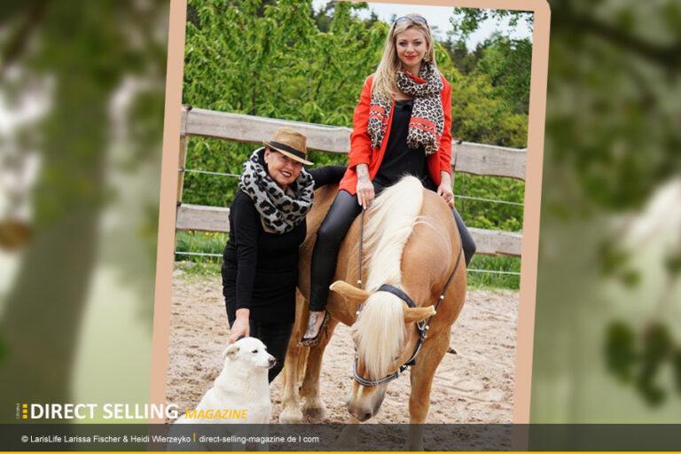 Larissa Fischer und Heidi Wierzeyko starten mit Larislife in Deutschland und Österreich